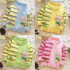 gyerek,baba,pulcsi,pulóver,kötött,fiú,lány,maci - 2190 Ft - Nézd meg Te is Vaterán - Baba pulóver - http://www.vatera.hu/item/view/?cod=2184052262