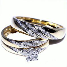 Selecting His and Hers Wedding Ring Sets #HisandHersDiamondWeddingRingSets