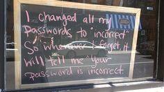 Wachtwoord vergeten Quest