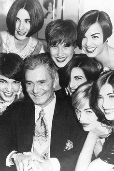 Vidal Sassoon et des modeles