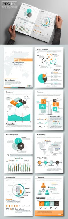 Infographic Tutorial infographic tutorial illustrator cs2 download : Infographic Flat Elements Template Vector EPS, AI Illustrator ...