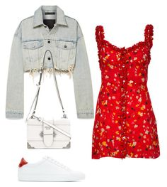 """Untitled #5996"" by lilaclynn ❤ liked on Polyvore featuring Givenchy, Alexander Wang, Prada and AlexanderWang"