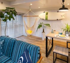 BEACH STYLE | CALIFORNIA PROJECT | RE住むRENOVATION Beach Style, California Beach, Curtains, Projects, Home Decor, Log Projects, Blinds, Blue Prints, Decoration Home