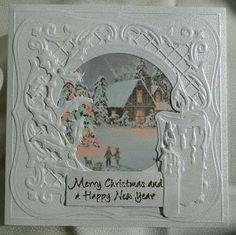 Creaties met Papicolor papier: Merry Christmas.....