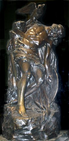 """Statue of """"The Dying Cuchulain"""" by Oliver Sheppard now at the GPO, Dublin. Irish Celtic, Celtic Art, Irish Mob, Dublin, Irish Mythology, Easter Rising, Chinese Dragon Tattoos, Legends And Myths, Public Art"""