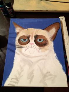 If any fans of Grumpy Cat see items being sold (for example on Etsy) please report ads for removal. They do not have rights to the Grumpy Cat image. GC is owned by a human, who does not want this happening! thanks.
