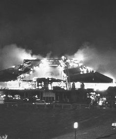 The night Wolftrap burned to the ground.