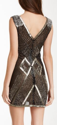 Beaded deco dress