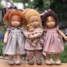 Best Baby Doll, Cute Baby Dolls, Baby Doll Clothes, Doll Sewing Patterns, Sewing Dolls, Doll Clothes Patterns, Enchanted Doll, Waldorf Dolls, Fairy Dolls