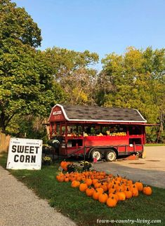 Charming Farm Stand with Fall Produce