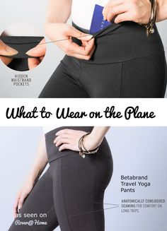 What to Wear on the Plane? These Comfy Travel Yoga Pants from Betabrand