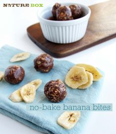 No-Bake Banana Energy Bites
