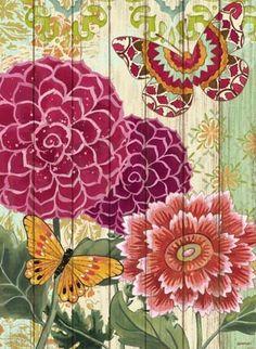Bloom-Wood Flourish by Jennifer Brinley | Ruth Levison Design