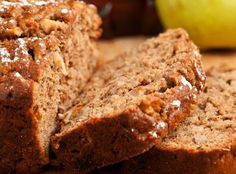 Estelle's: PEAR WALNUT BREAD WITH QUICK APPLE BUTTER