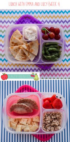 A week's worth of lunches at a time by @keli_h