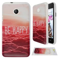 Huawei Ascend Y330 Case, Huawei Y330 Case, Moon mood® Soft TPU Ultra Slim Protector Back Case for Huawei Ascend Y330 (Cloud Happy Sun Red White): Amazon.ca: Electronics