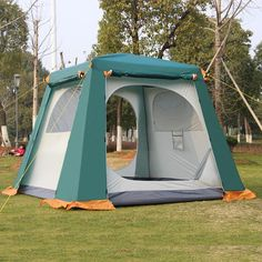 Type: 3 - 4 Person Tent Building Type: Quick Automatic Opening Layers: Double Pole Material: Steel Style: Outdoor Outside Tent Waterproof Index: >3000 mm Season: Four-season Tent Bottom Waterproof Ind