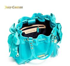 215ce48ffe41  198 JUICY COUTURE Nylon Handbag hobo tote purse MALIBU Daydreamer Blue Hobo  Handväskor