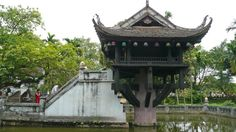 one pillar pagoda, hanoi