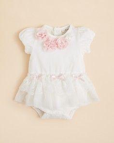 Miniclasix Infant Girls' Tutu Bodysuit - Sizes 3-9 Months