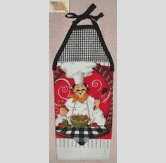 hanging kitchen towel tie straps padded machine quilted top snowman rh pinterest com  hanging kitchen towels with ties