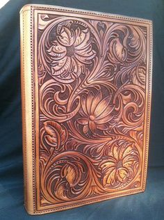Will Boedeker Custom Leather | Portfolio & Bible Cover Gallery-SR