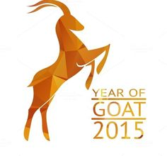 Check out Goat New Year 2015 Sign by Microvector on Creative Market
