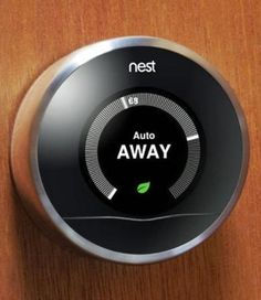 Nest, the smart thermostat.