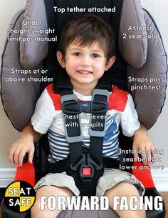 Forward Facing Car Seat Tips Facebook SeatSafeTemecula