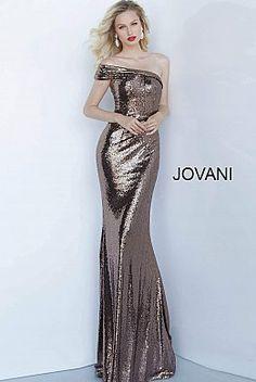 Metallic Evening Dresses, Metallic Dress, Evening Gowns, Sparkly Dresses, Jovani Dresses, Modest Dresses, One Piece Dress, Hot Dress, Baby Girl Dresses