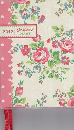 Cath Kidston Diary 2012