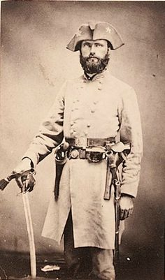 Confederate Gen Richard Gano did not tolerate drunkenness or the use of foul language in his command. After a successful raid in Kentucky, a trooper became drunk, and whiskey was found in his canteen. Gano ordered all of his men to fall into line and for his officers to go down the line, smelling each man's canteen. Those found to have whiskey in their canteens were immediately ordered to pour it out. Later, many of the men recalled that a lot of Kentucky whiskey was wasted that day.