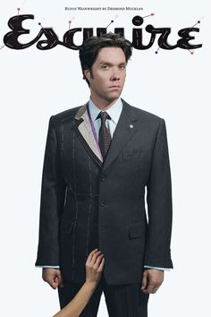 Rufus Wainwright by Desmond Muckian for Esquire UK | January 2008