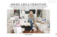 How many shoes does Sarah Jessica Parker really own? The Sex And The City actress separates the facts from the fictional myths that surround her legendary wa. Shoes 2016, Net A Porter, Sarah Jessica Parker, Shoe Collection, World Of Fashion, The Incredibles, Lifestyle, Videos, Amp