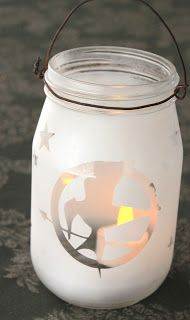 Great ideas for Girls Camp - love these lanterns