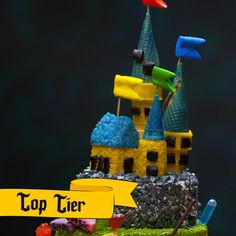 Celebrate Harry Potter's birthday with an epic Hogwarts castle cake. It's Dumbledore's favorite muggle flavor-- Lemon Drop. Celebrate Harry Potter's birthday with an epic Hogwarts castle cake. It's Dumbledore's favorite muggle flavor-- Lemon Drop. Harry Potter Desserts, Harry Potter Food, Harry Potter Birthday, Birthday Cake Flavors, New Birthday Cake, Hogwarts, Drop Cake, Cake Videos, Diy Videos