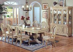 Antika ahşap yemek odası mobilya, geleneksel yemek odası takımı, yemek masası, yemek sandalyesi, Çin( adf007)