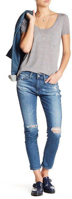 AG Beau Slouchy Skinny Jean