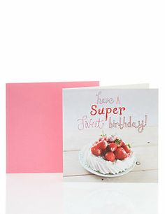 Meringue Birthday Card for Her