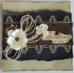 kerrie gurney : Thinking of You Cards | Ultimate Crafts