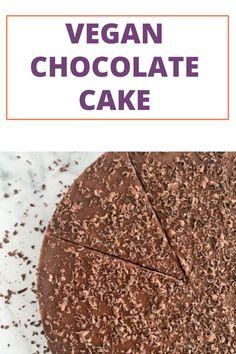A super simple Vegan Chocolate Cake for the whole family. #vegan #healthydessert #chocolatecake #familydessert #familyrecipes Homemade Baby Puree Recipes, Baby Recipes, Pureed Food Recipes, Cooking Chocolate, Vegan Chocolate, Chocolate Cake, Banana Popsicles, Strawberry Oatmeal Bars, Hazelnut Cookies