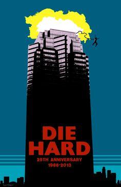 Die Hard - 25th Anniversary movie poster