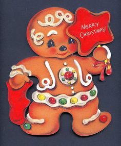 Christmas Gingerbread star gumdrops Decoration Sign by CoolCatCity, $14.95