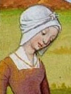 Late Century White Hood or Coif – Transition Period / War of the Roses « sevenstarwheel Medieval Fashion, Medieval Clothing, Historical Clothing, Medieval Costume, Medieval Dress, Medieval Hats, 15th Century Fashion, 16th Century, Renaissance