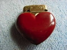 Valentine Day Gifts, Valentines, Cool Lighters, I Love Heart, Light My Fire, Vintage Heart, Red Aesthetic, French Antiques, Heart Shapes
