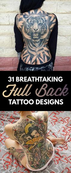 TattooBlend | Full Back Tattoos