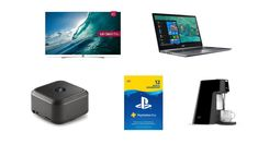 Incredible savings at Amazon on a LG 55-inch 4K OLED TV, plus deals on TVs, laptops, wireless speakers, and headphones http://bit.ly/2IpTsGn