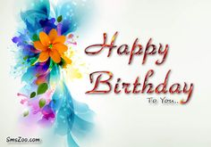 colorful birthday message images - Google Search