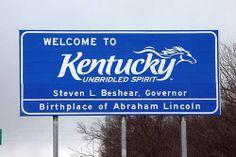 Internet Store of Worldwide Souvenirs - Acrylic Fridge Magnet: United States. Welcome to Kentucky: Unbridled Spirit My Old Kentucky Home, Kentucky Derby, Louisville Kentucky, Kentucky Wildcats, Hampshire, Wyoming, Connecticut, Idaho, Arkansas