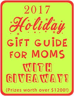 2017 Holiday Gift Guide Giveaway for Moms! Holiday Gift Guide, Holiday Gifts, Great Memories, Raising, Gifts For Mom, Giveaway, Women, Xmas Gifts, Mom Presents